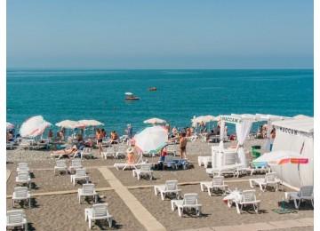 Собственный пляж в Сочи | Горнолыжный курорт Горки Город
