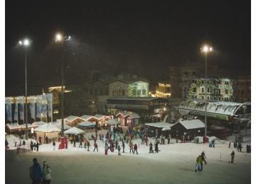 Вечернее катание | Горнолыжный курорт Горки Город