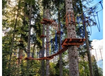 Веревочный парк в Сочи | Горнолыжный курорт Горки Город
